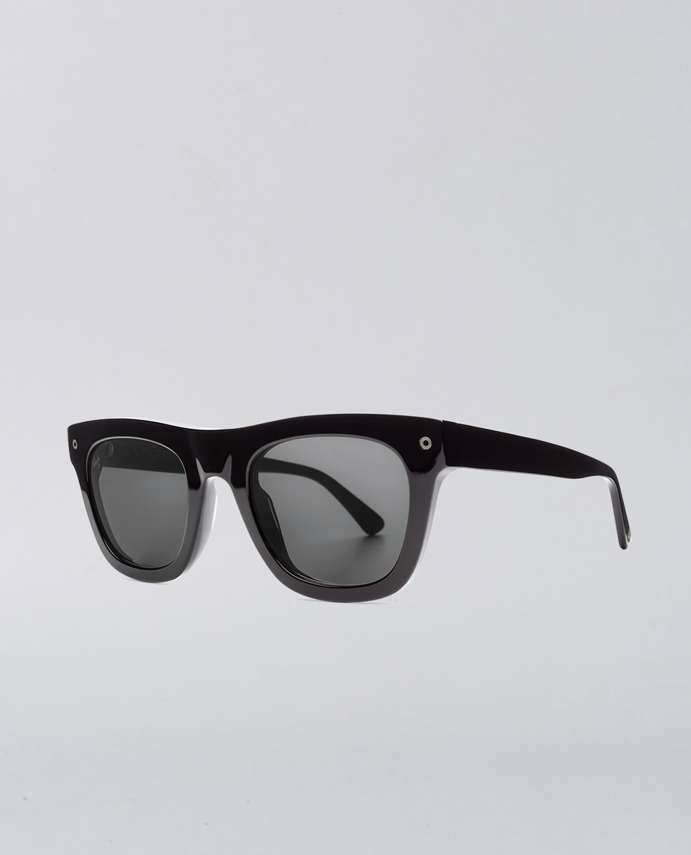 Anderson Gloss Black Sunglasses