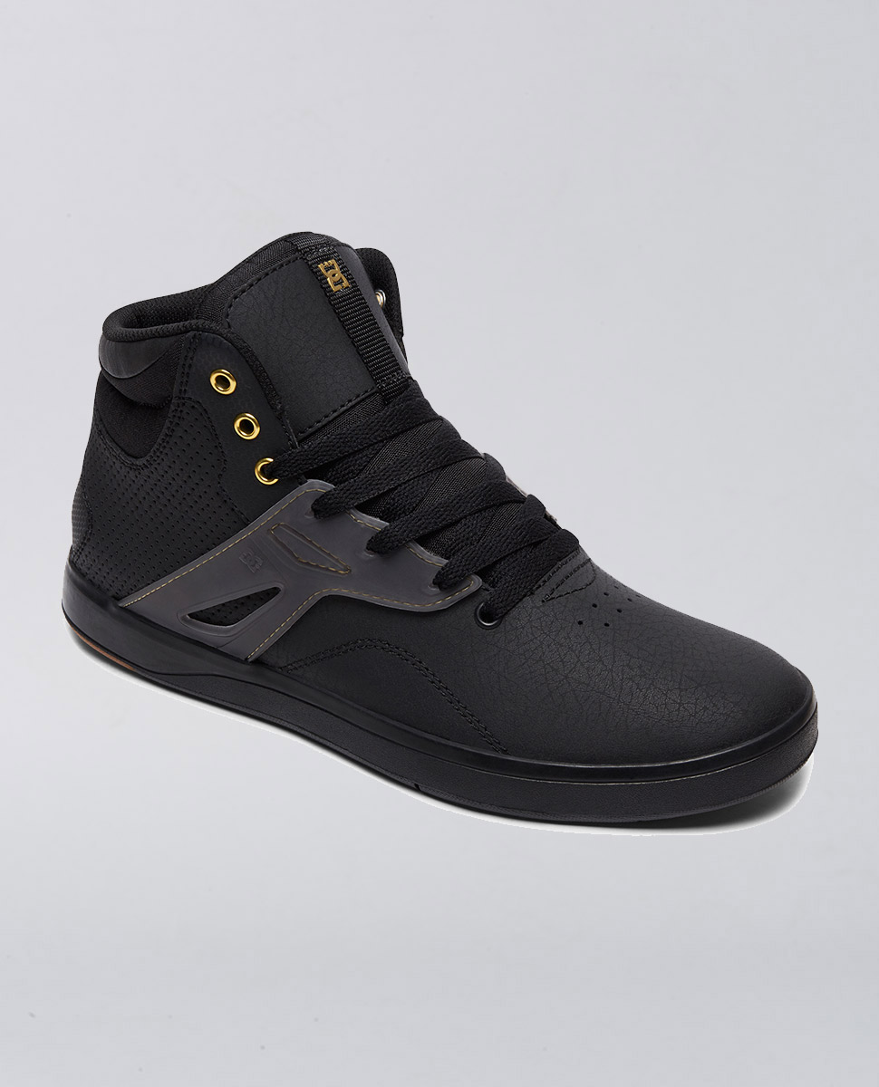 Frequency High Black Shoe