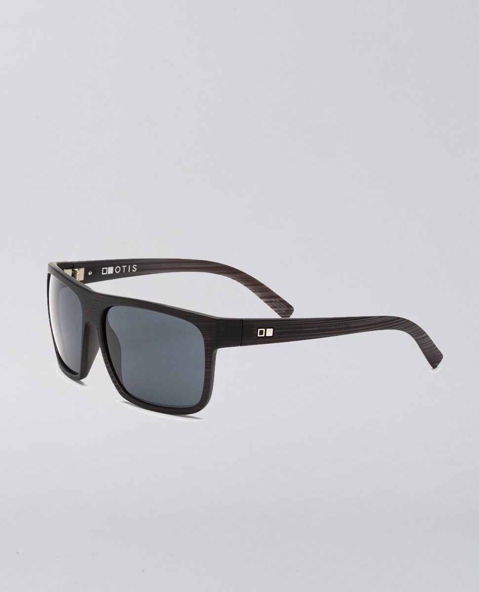 After Dark Black Wood Matte Sunglasses