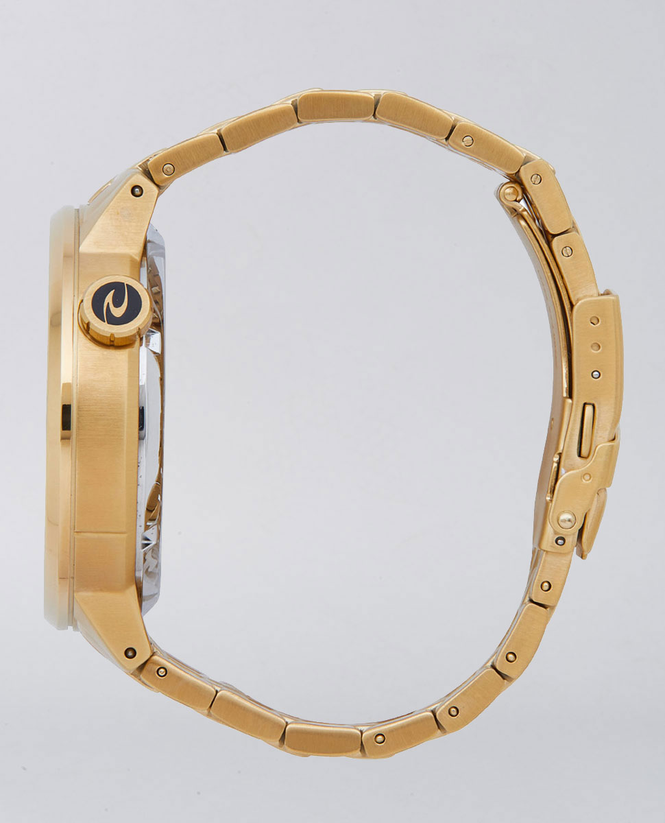 Detroit Auto Gold Stainless Steel Watch