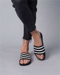 Adilette Black Slides
