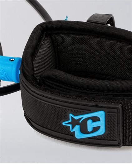 Creatures Pro 6FT Wave Leash Black Blue
