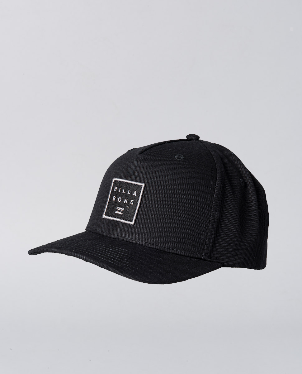 Stacked Snapback Stealth Hat