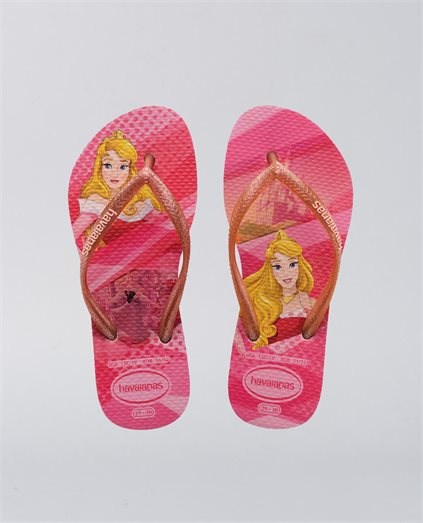 Kids Slim Pink Princess Thongs