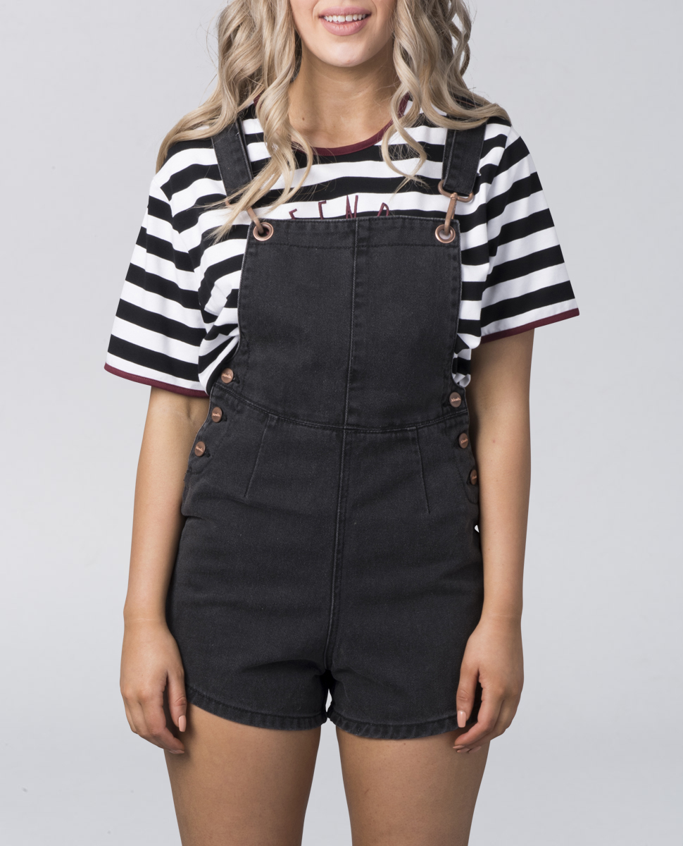 Dylan Overalls (Faded Black)