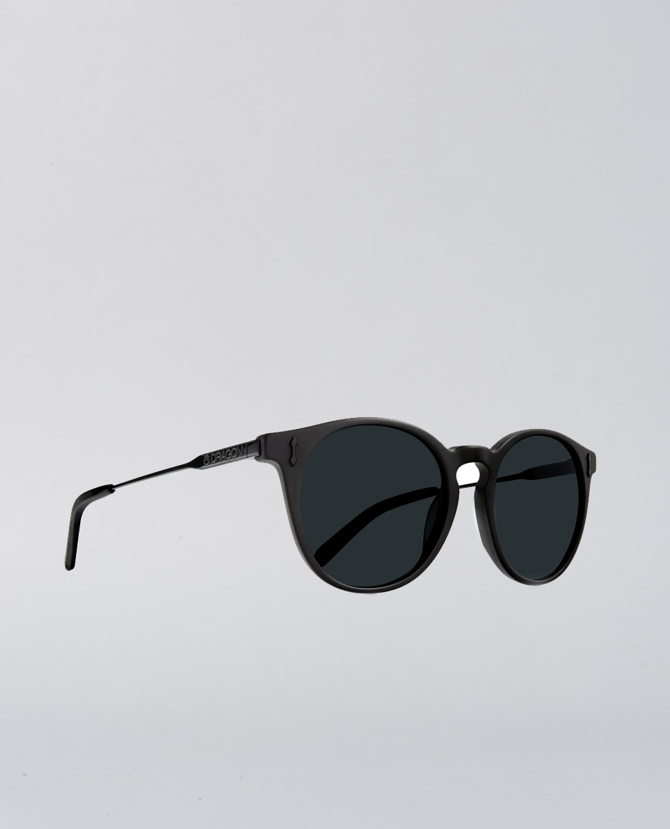 Hype Matte Black Smoke Sunglasses