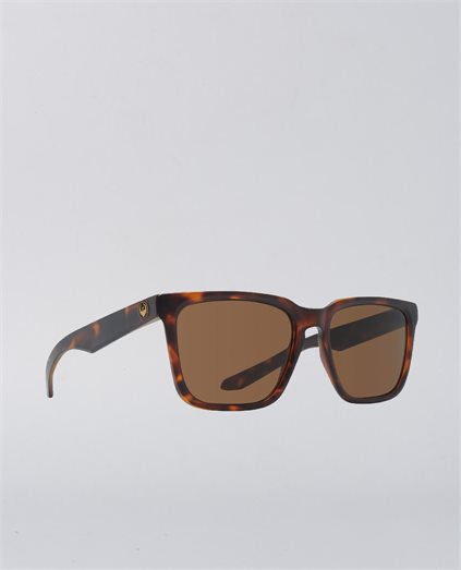 Baile Matte Dark Tortoise Polarised Sunglasses