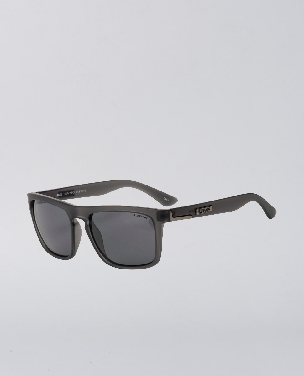Heavy Revo Matte Black Sunglasses