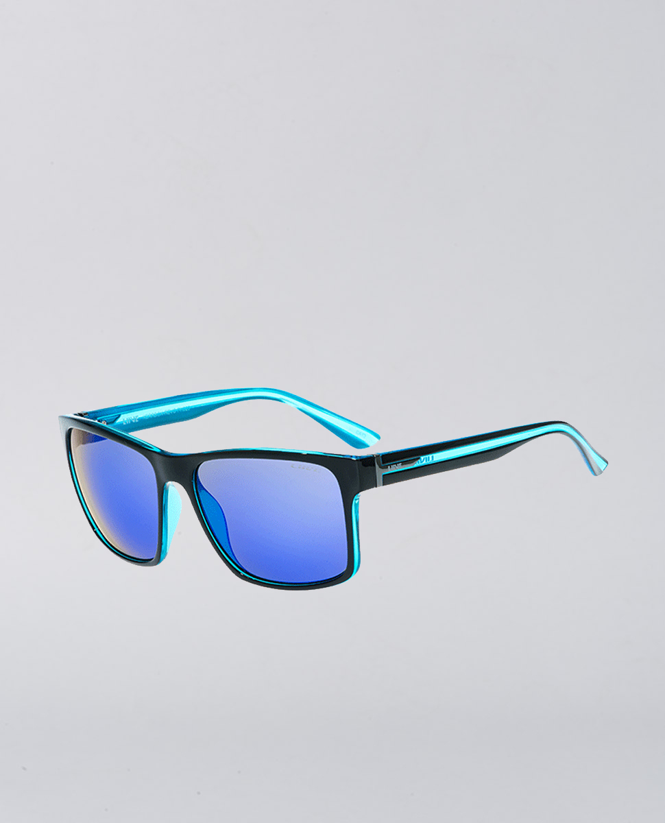Kerrbox Mirror Xtal Neon Black Sunglasses