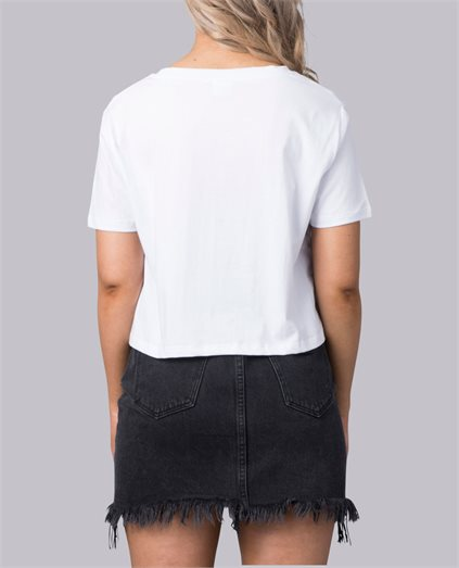 Freedom Chase Cropped Tee