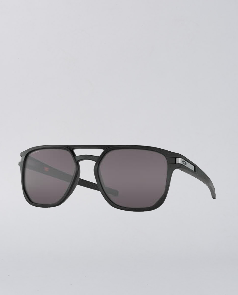 Latcha Beta Matte Black Prizm Grey Sunglasses