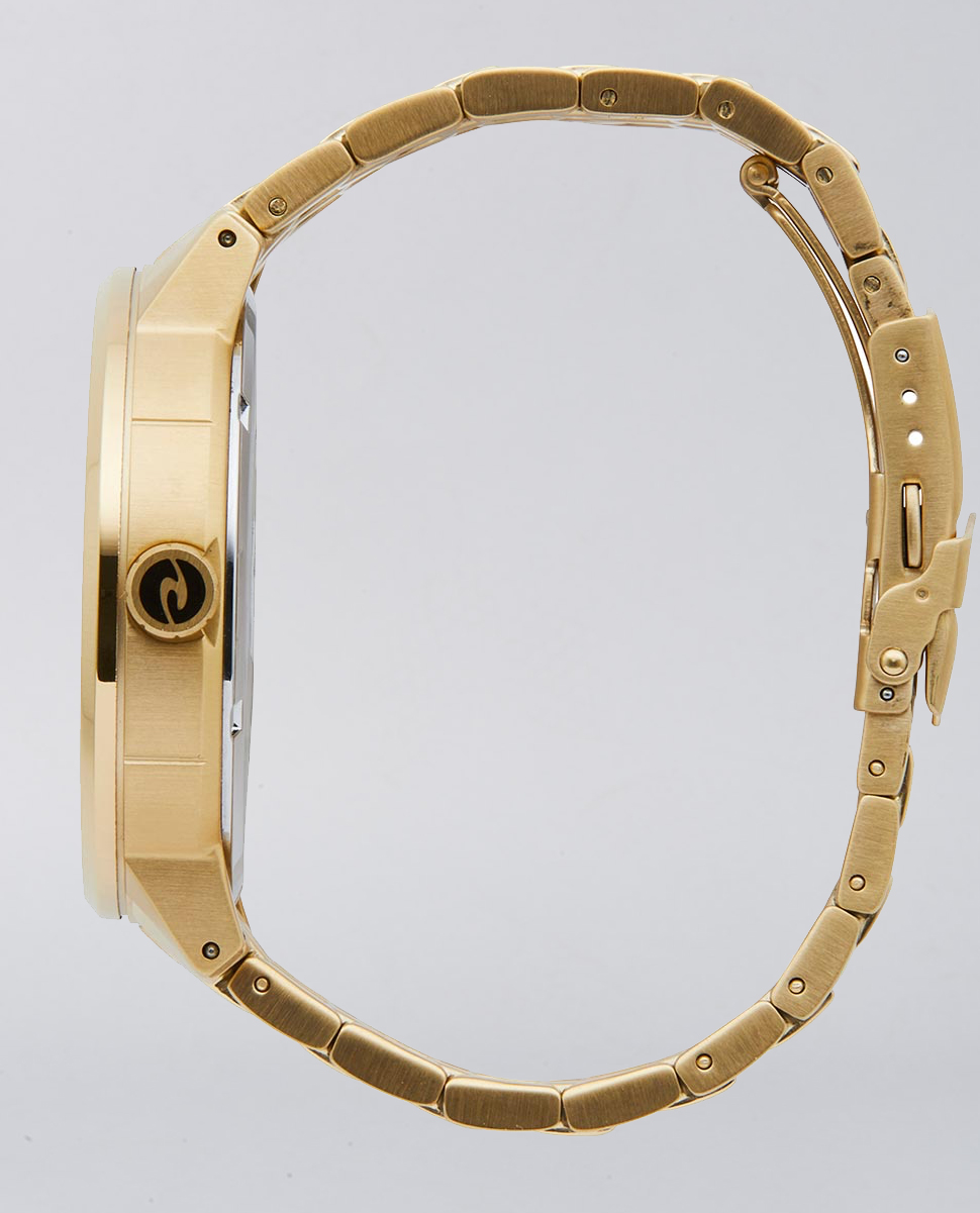 Detroit Multi Gold Stainless Steel Watch