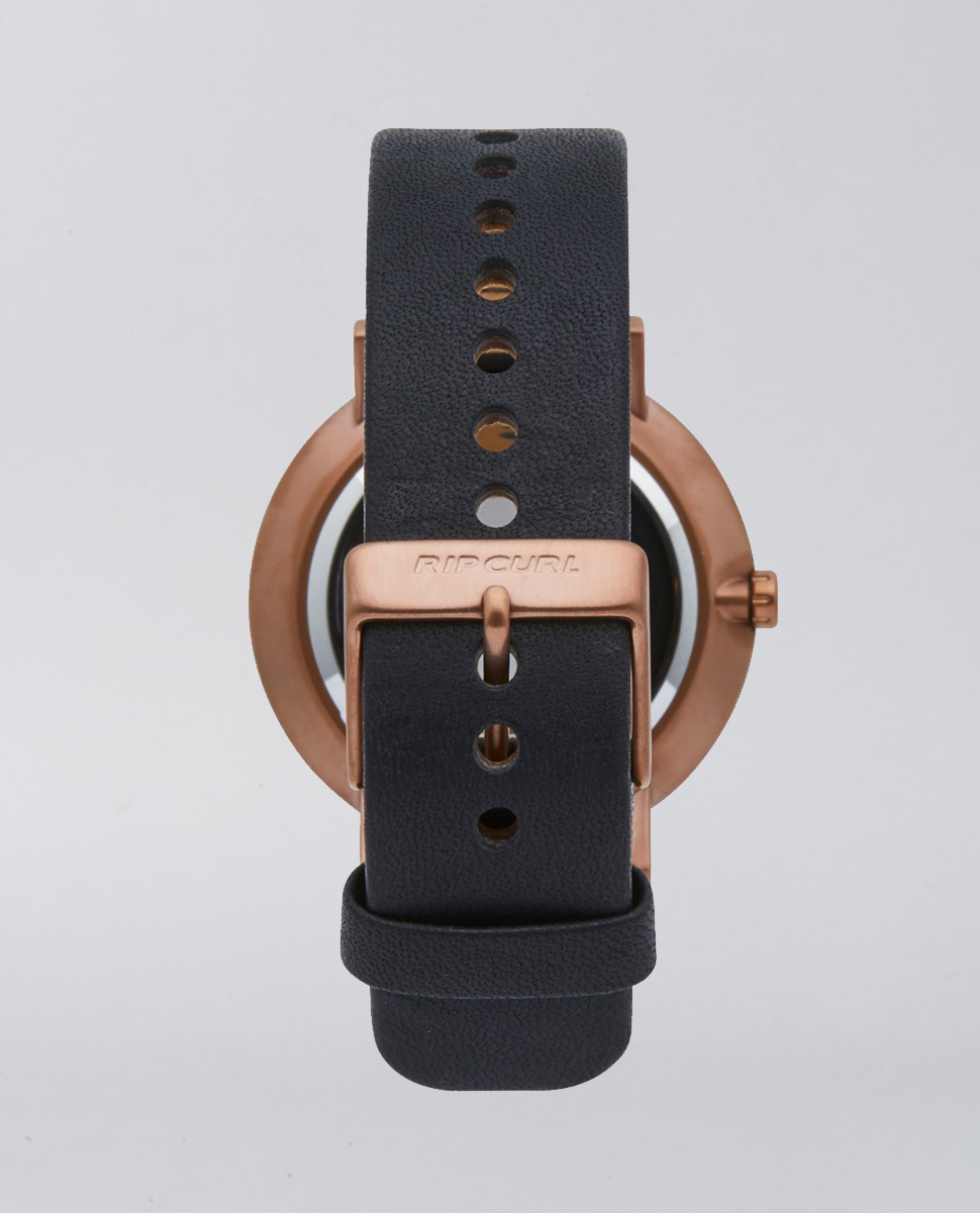Mode Leather Bronze Watch