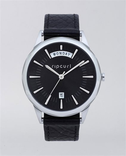 Indie Black Leather Watch