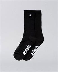 Flame Socks 2Pk