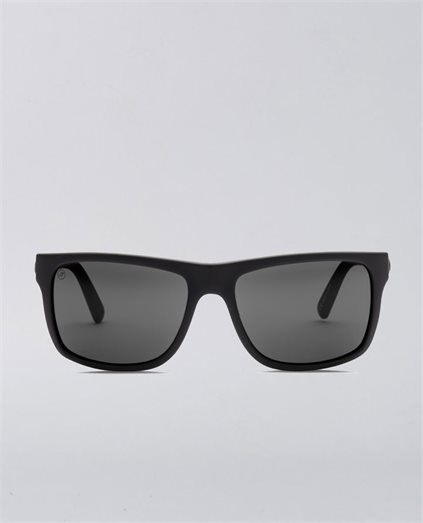 Swing Arm Matte Black Grey Sunglasses