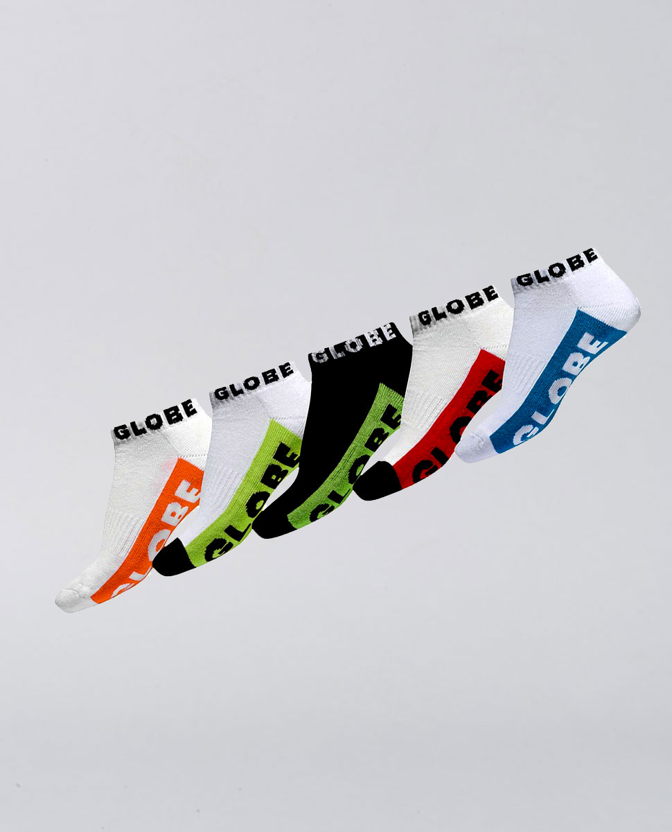 Kids Multi Brights Sock 5 Pack