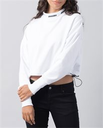 Haute Cropped Turtle Neck Sweater