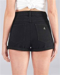 A High Relaxed Denim Short