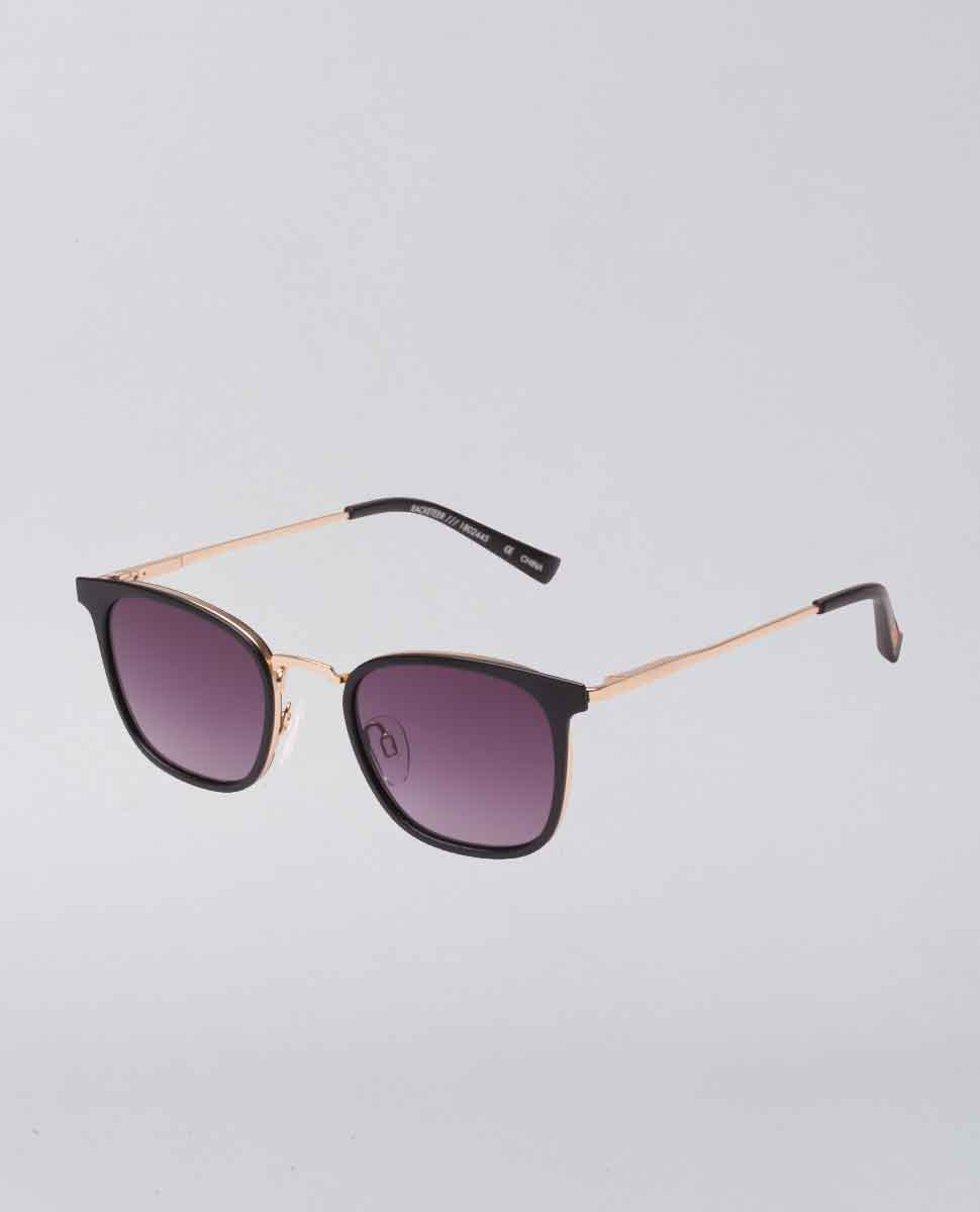 Racketeer Matte Black Sunglasses