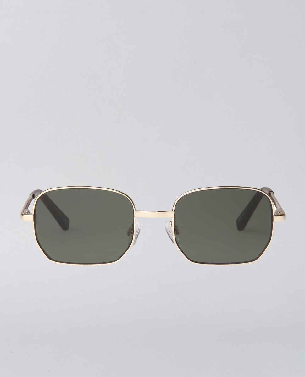 The Flash Gold Khaki Sunglasses