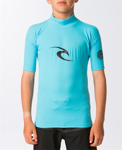 Junior Corpo Short Sleeve Rash Vest