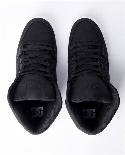 Pure Black High Top Shoe