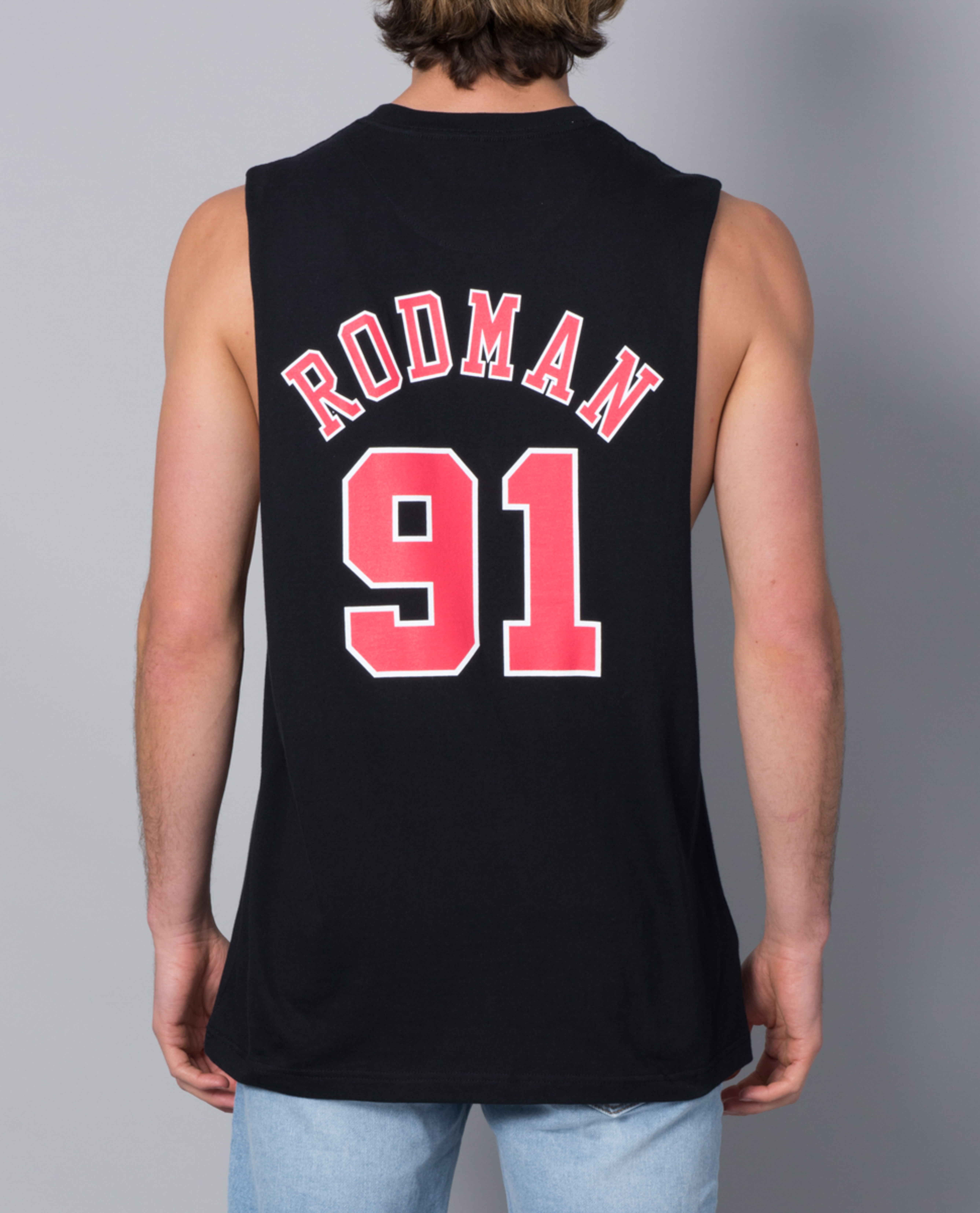 Mitchell and Ness Chicago Bulls Singlet Top | Ozmosis