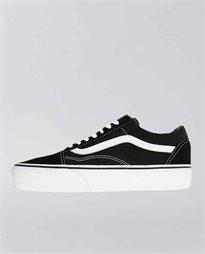 Old Skool Platform Black and White Shoe