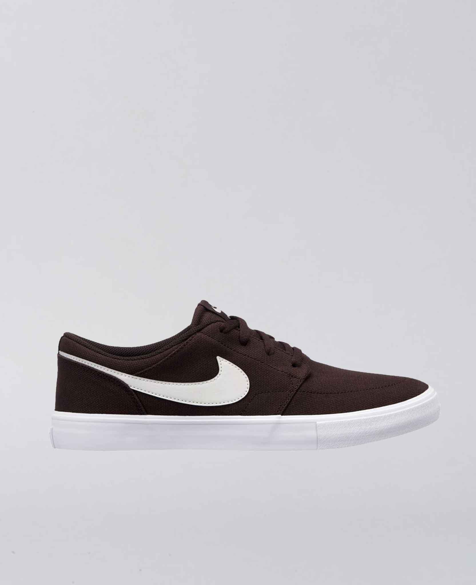 Portmore II Velvet Brown Shoes