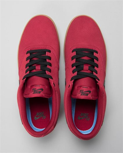 Check Red Crush Gum Shoes