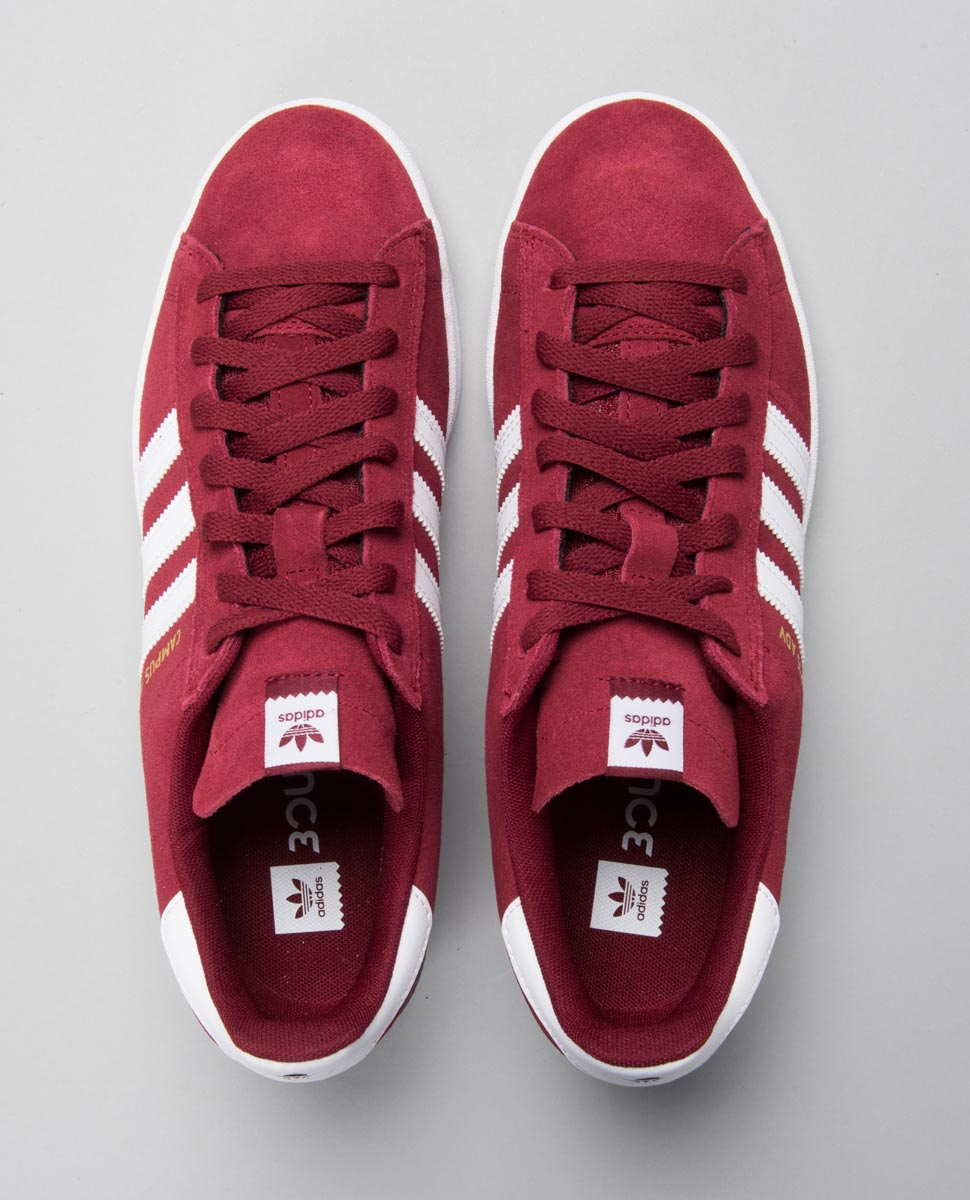 Campus Adv Burgandy Shoes