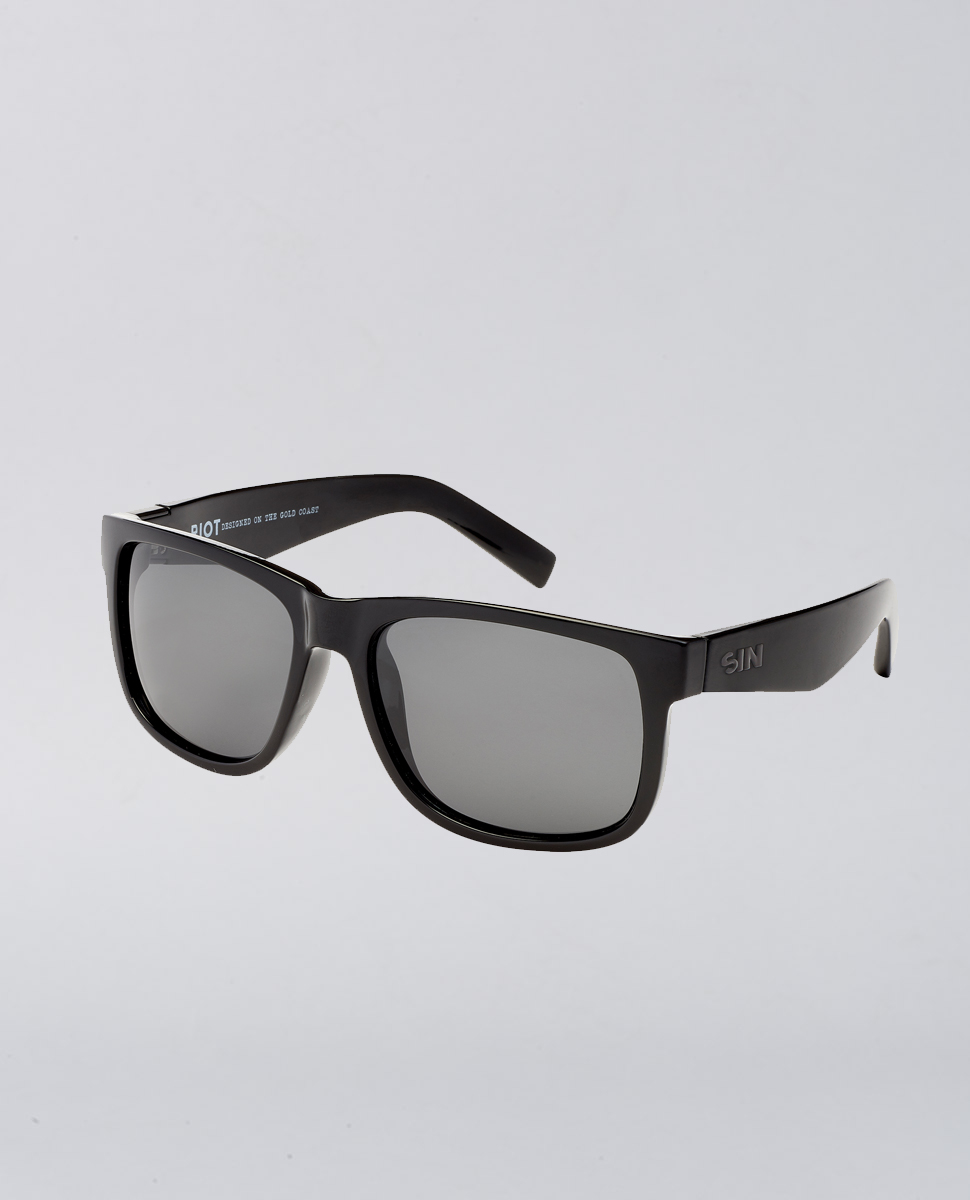 Riot Black Smoke Sunglasses