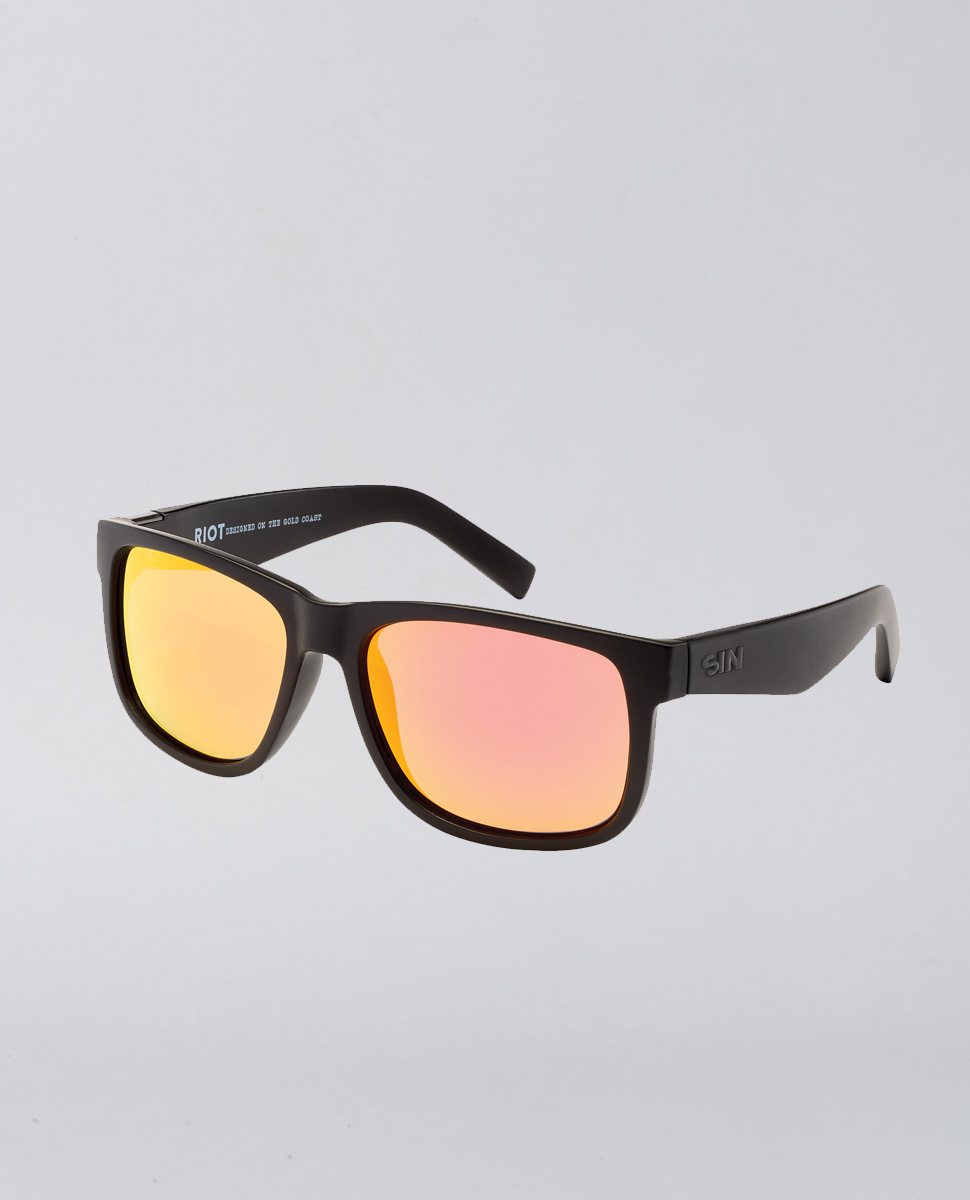 Riot Matte Red Sunglasses