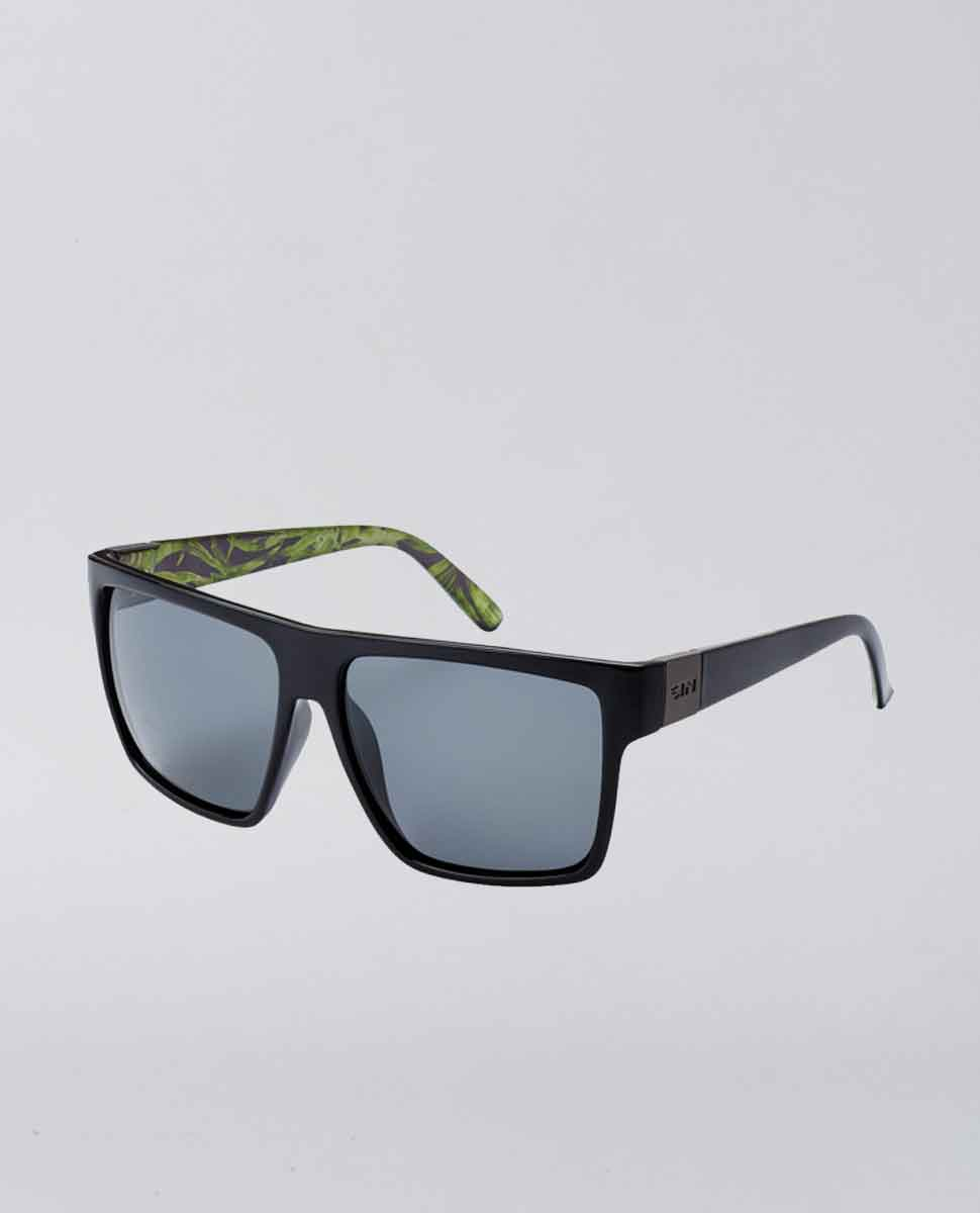 PCL Vespa Raven Palm Print Smoke Sunglasses