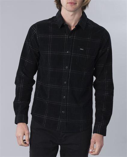 Phases Plaid Cord Shirt