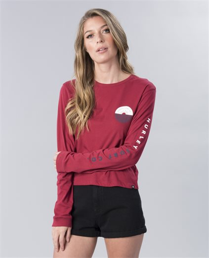 Horizon Perfect Raw Edge Long Sleeve