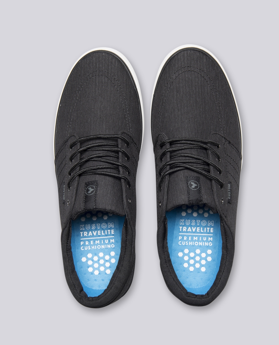 Remark 2 Black Charcoal Shoes