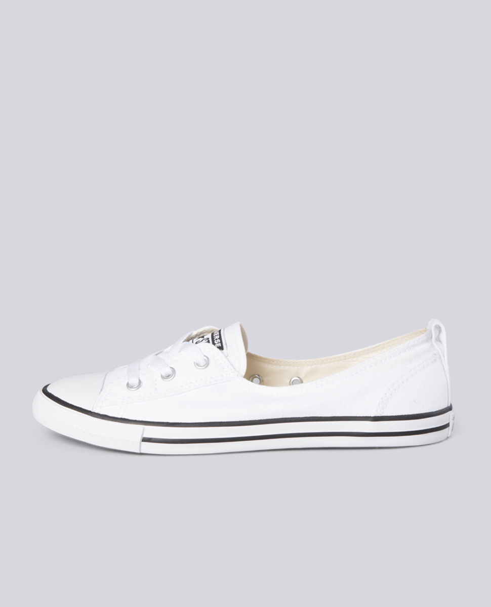 Ballet Lace White Shoes