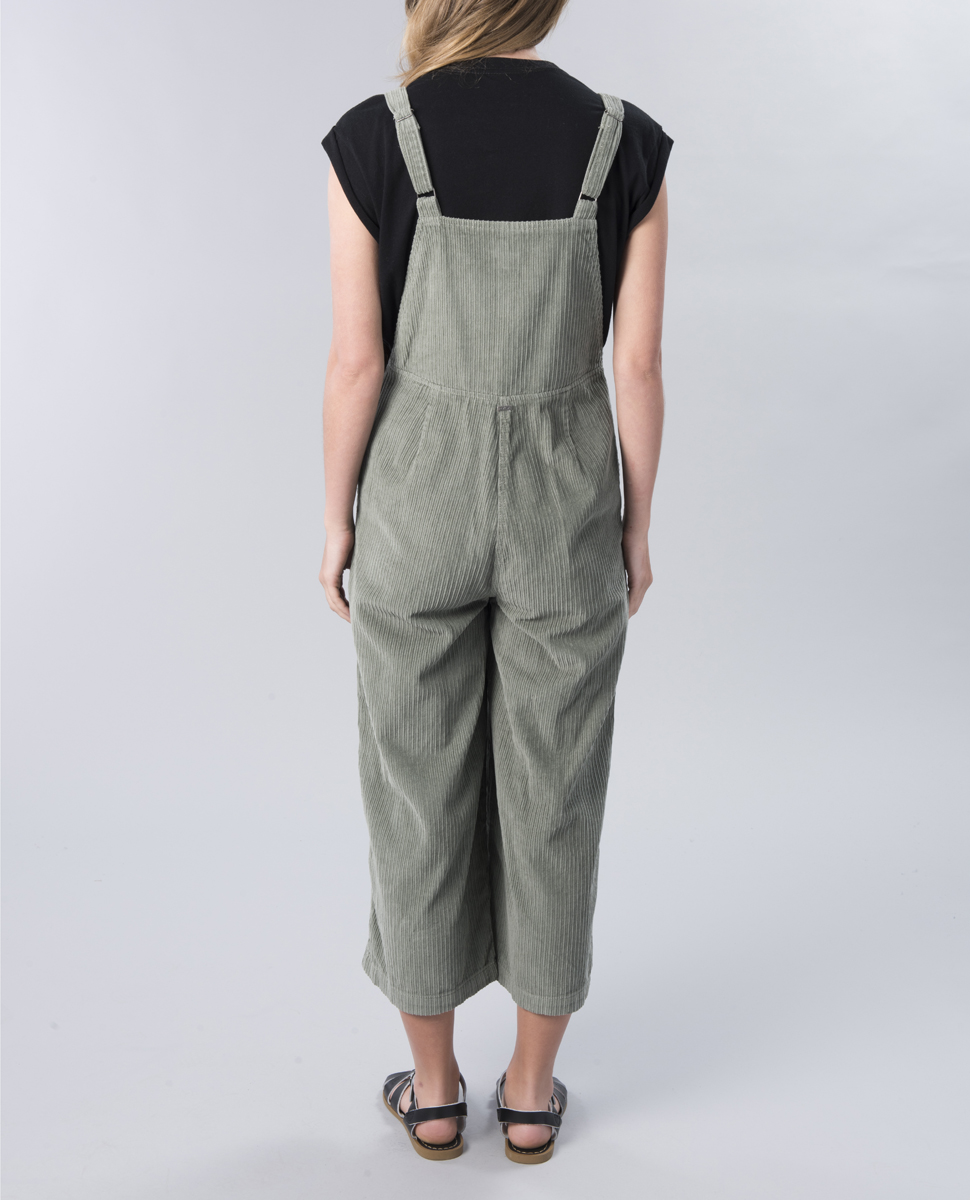 Crushed Plush Overall