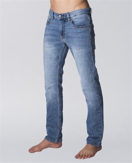 Slim Leg Salt Blue Jeans
