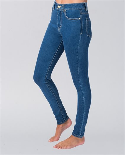 Pins High Mid Blue Jeans