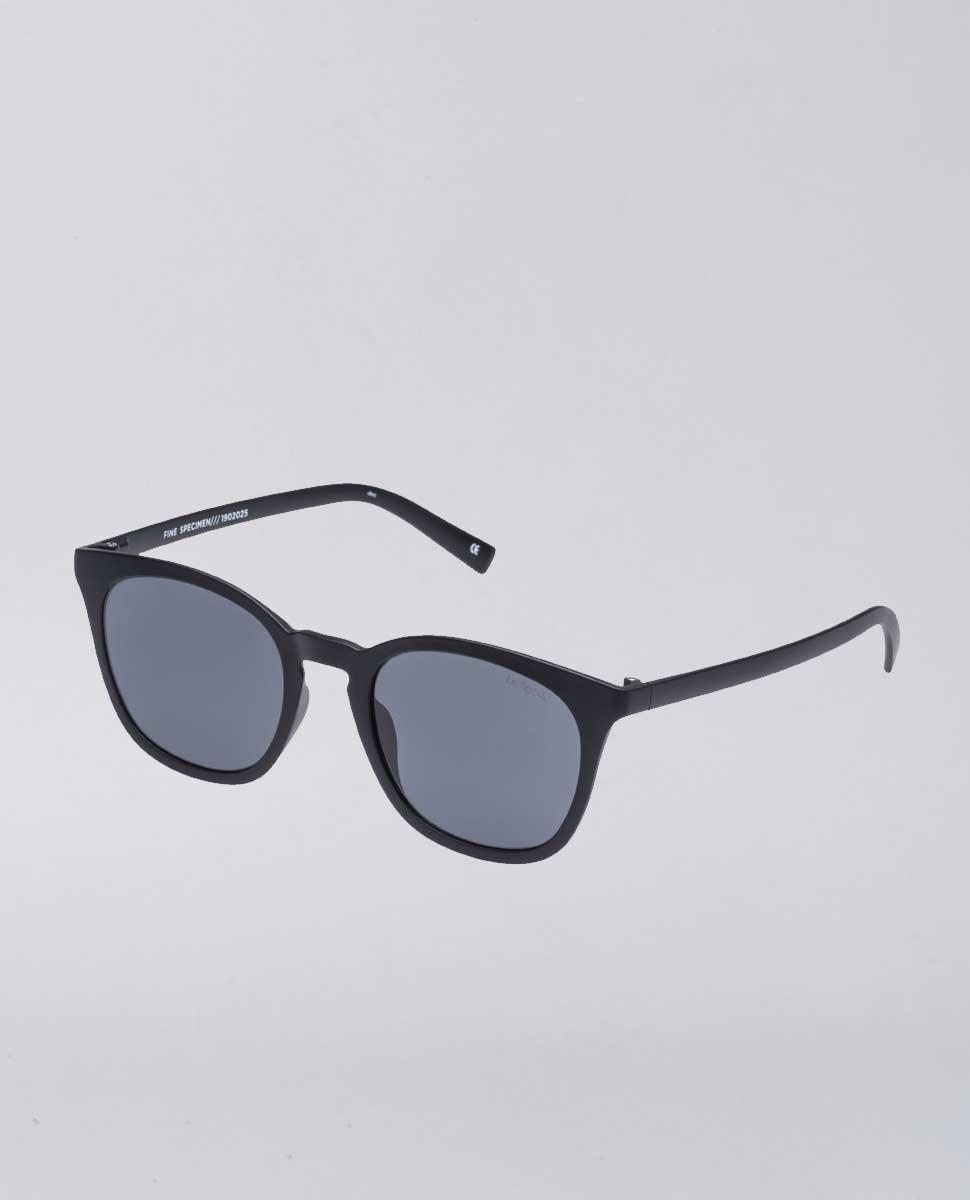 Fine Specimen Matte Black Sunglasses