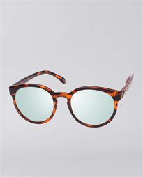 Wanderer Tort Mint Mirror Sunglasses