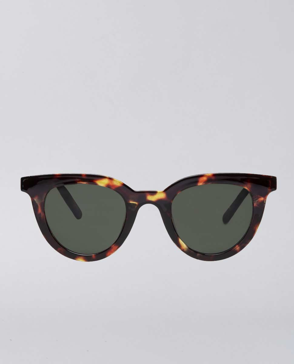 Savvy Tort Green Sunglasses