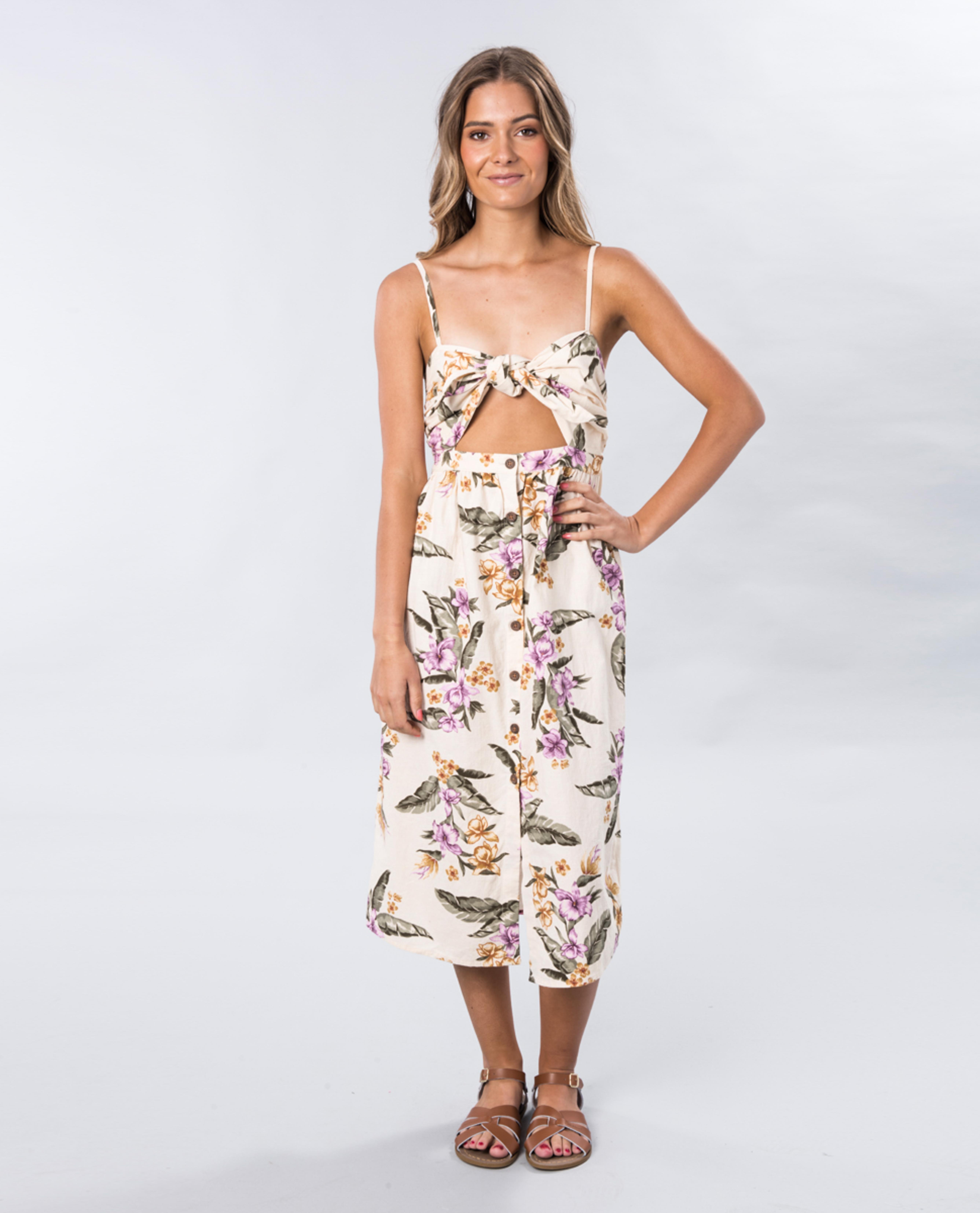 Mauve Island Dress
