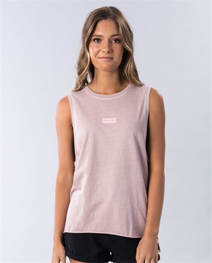 One and Only Wash Biker Tank