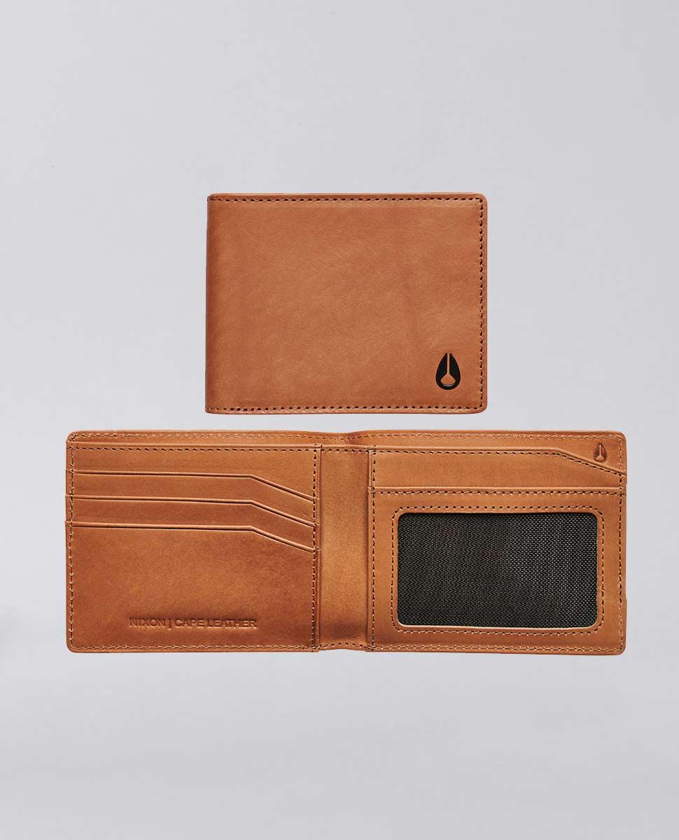 Cape Leather Bi-Fold Wallet