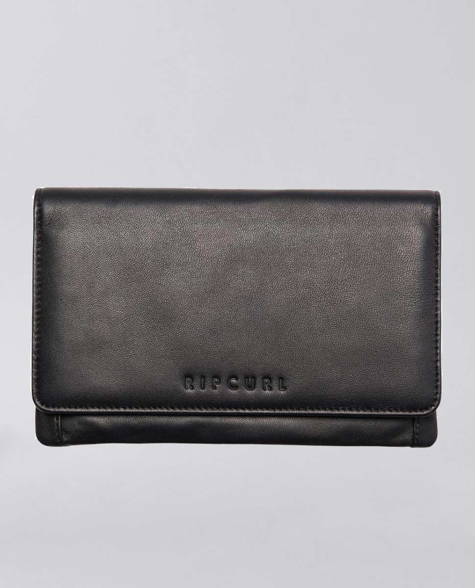 Plains RFID Folded Leather Wallet