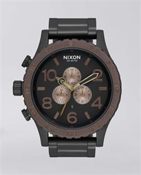 51-30 All Black Brown Watch